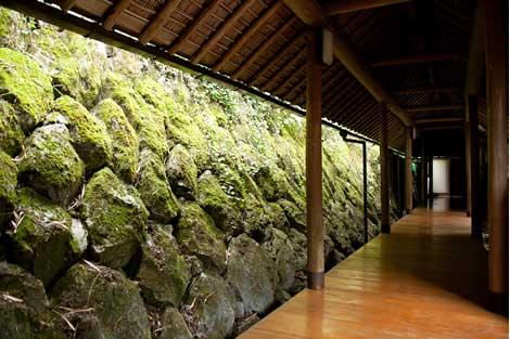 武家屋敷渡り廊下