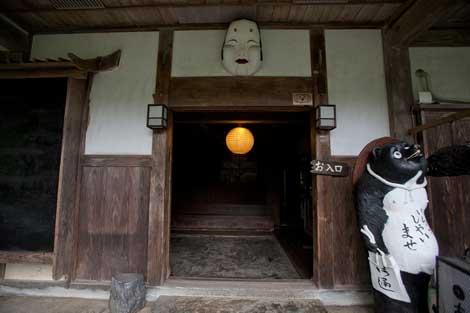 武家屋敷入口