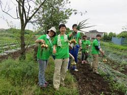 日本郵船援農ボランティア