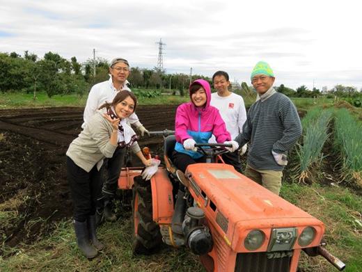 JCB援農ボランティア