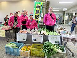ほんわかまつり野菜販売